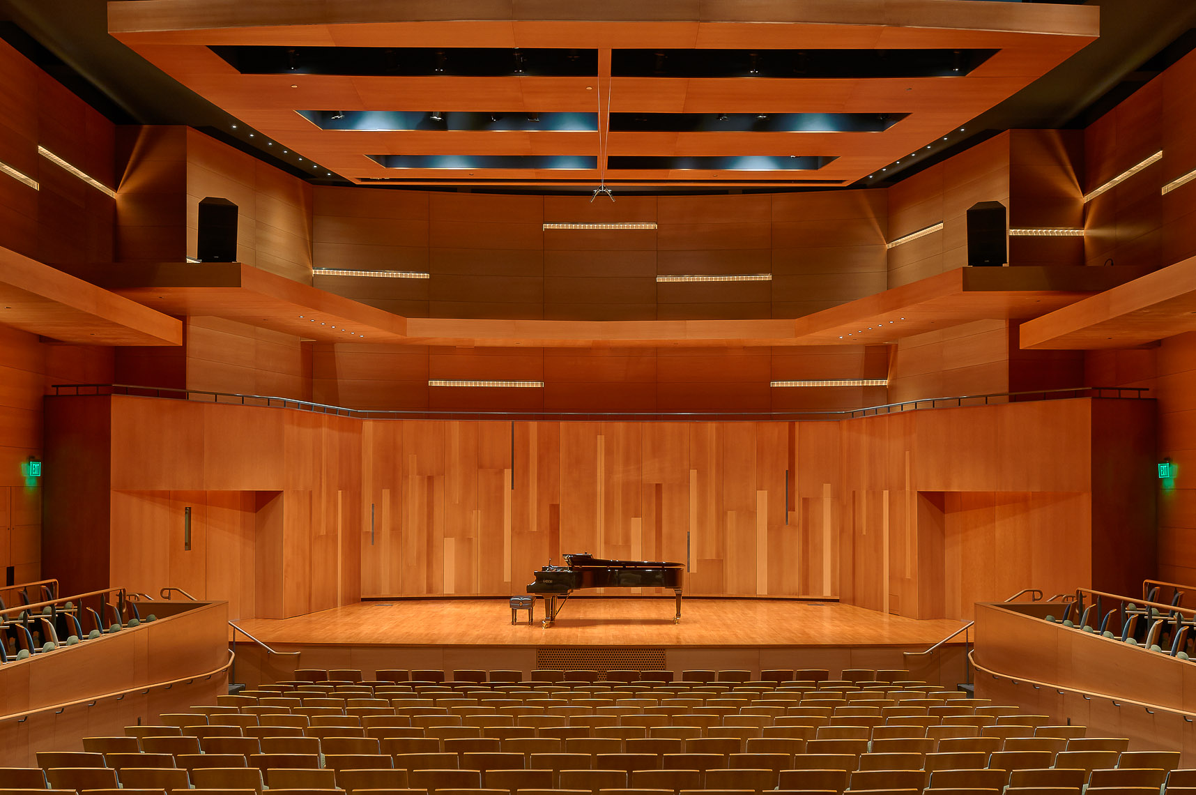 Utah State University Performance Hall interior.